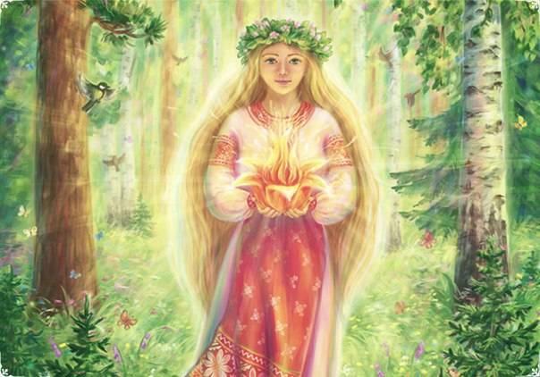 Славянская богиня Лада — значение, символы и праздники