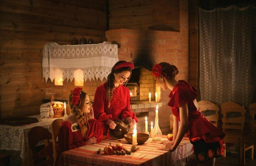 Гадания на святки и на рождество, способы гадания, на воске, на золоте, во сне