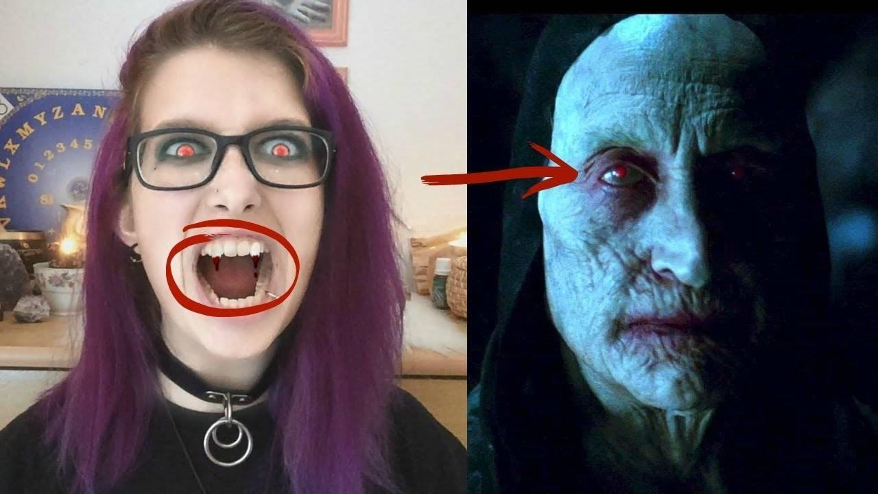 Как стать вампиром в домашних условиях - все методы и способы