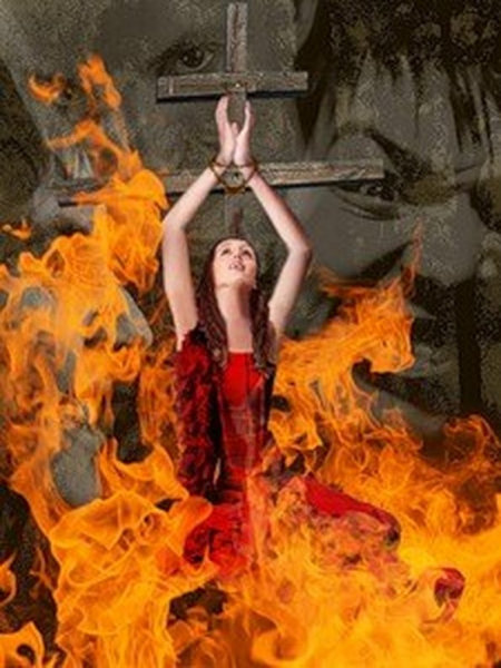 Почему ведьм сжигали на костре | сжигание ведьмы на костре