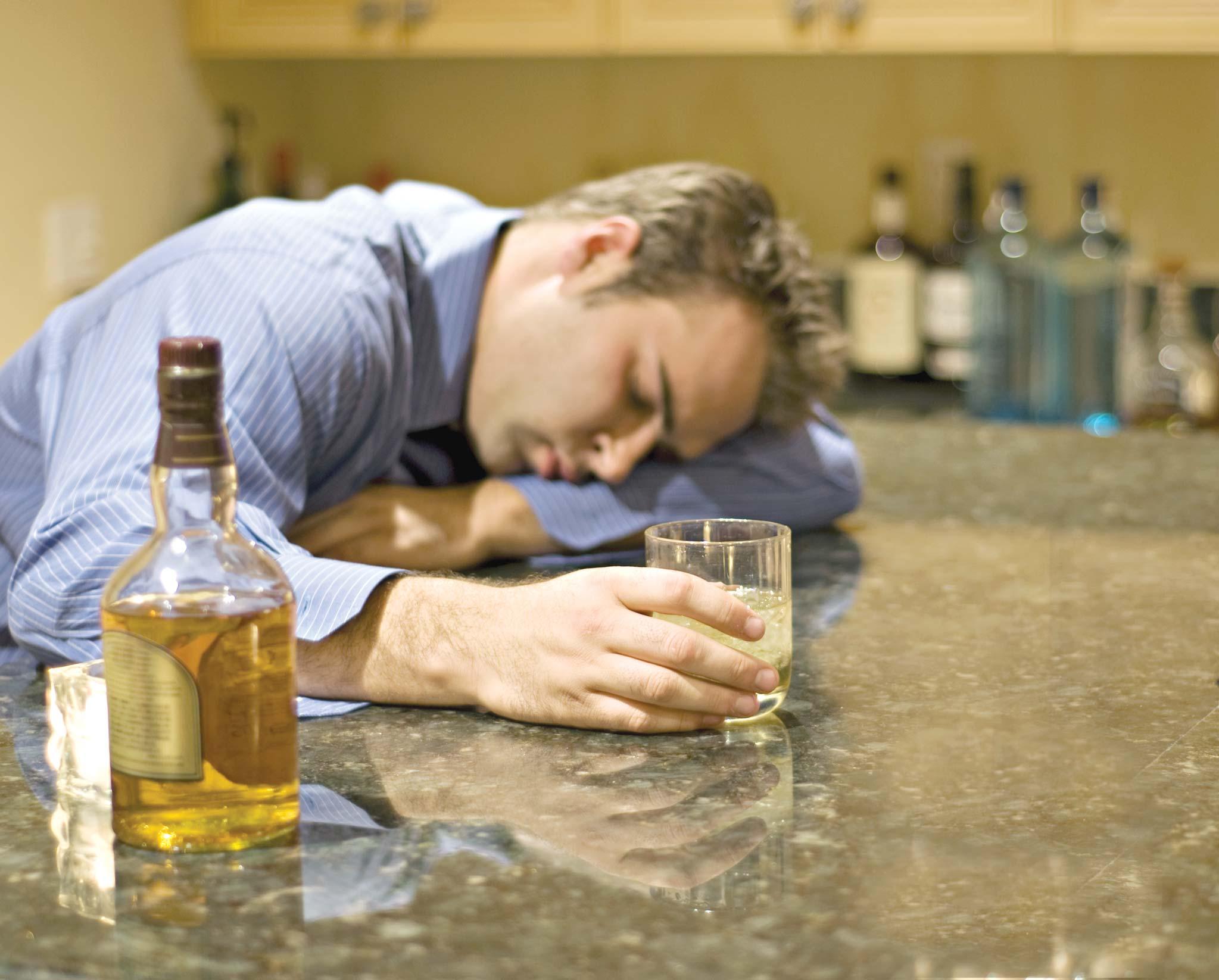 Порча на пьянство: как определить и снять