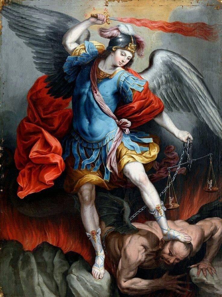 Архангел люцифер и архангел михаил — история и битва двух братьев