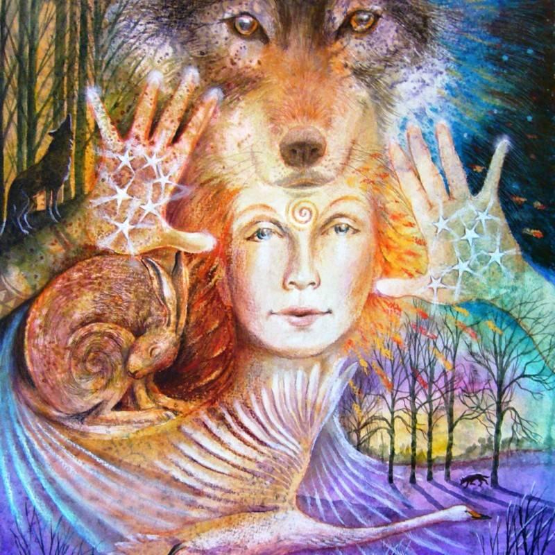 Богиня праздника имболк. бригитта. | эжени макквин. дао женской мудрости.