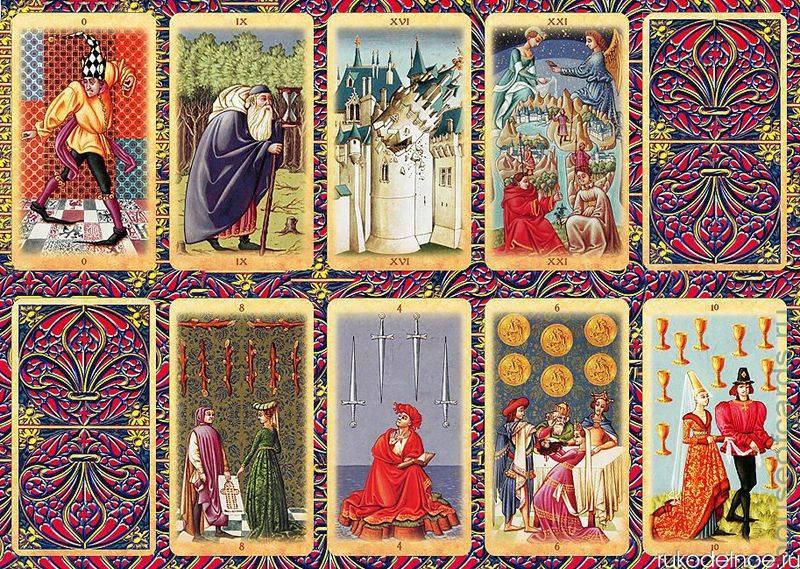 Колода карт таро - средневековое таро