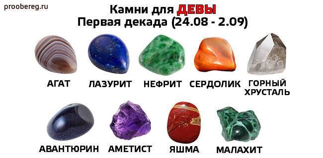 Камни талисманы для девушки девы: знак зодиака, оберег по дате рождения, камни для дев