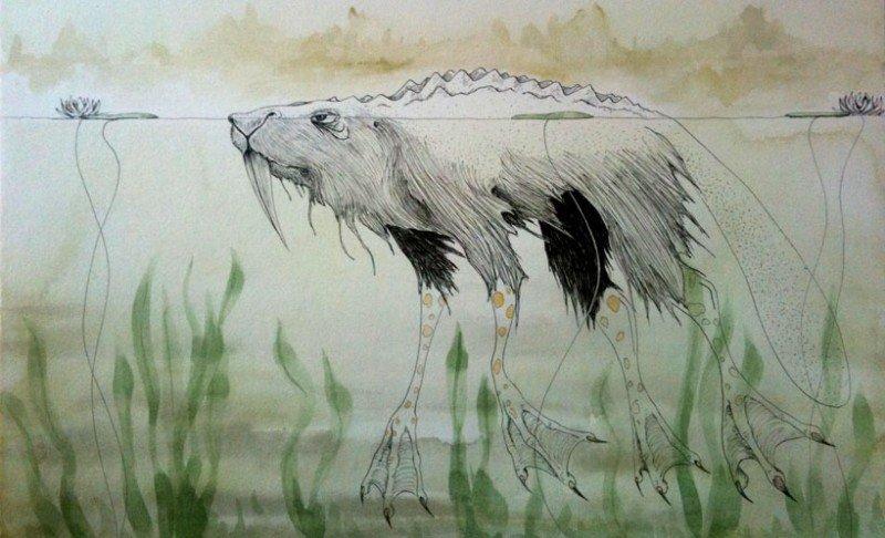 Afanc | bestiary.us