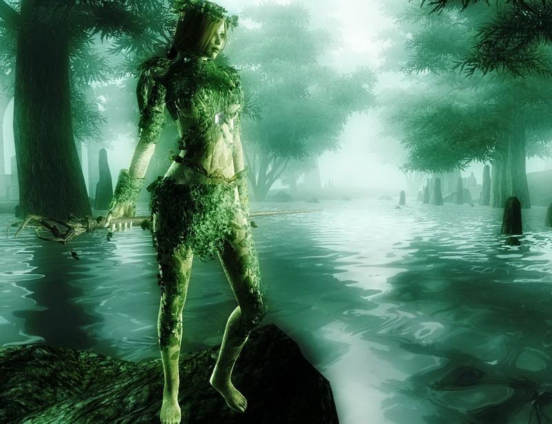 Дриады в мифологии - божества живущие в лесу