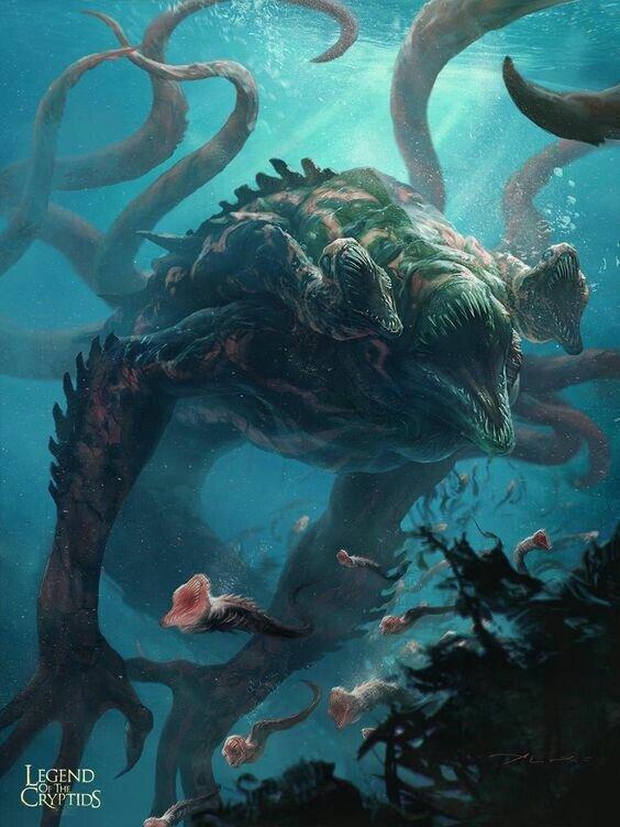 Морское чудовище кракен. кракен — легендарное чудовище из морских глубин