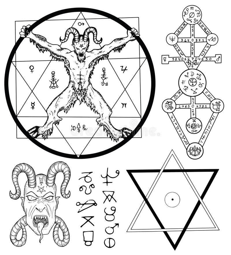 Символы люцифера — сигил, монета, звезда и другие. печать люцифера и магические силы