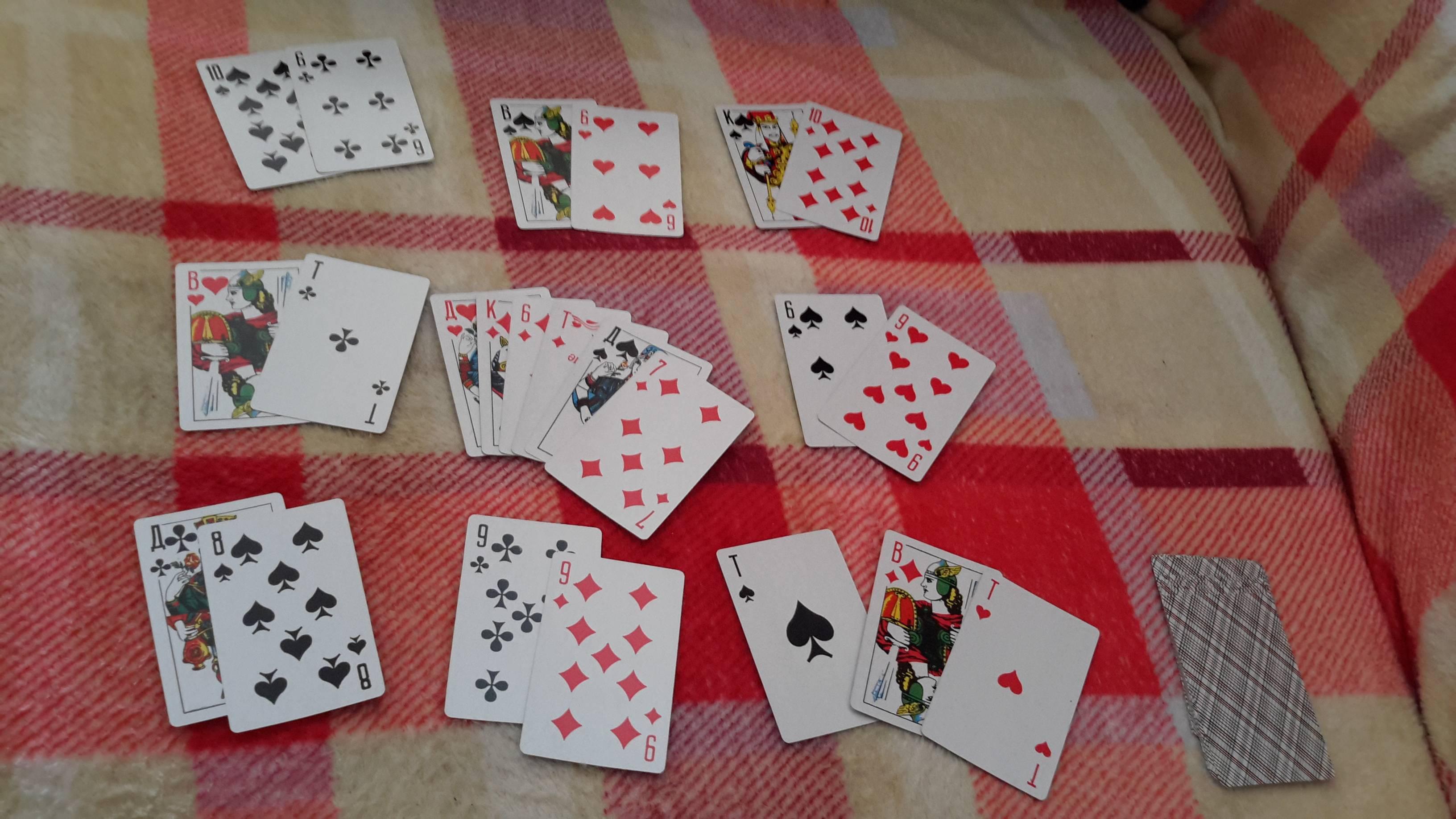 Толкование игральных карт при гадании