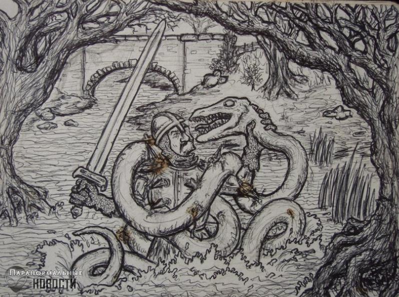 Ламбтонский червь - википедия