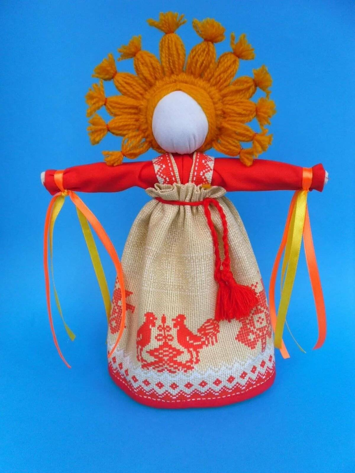 Кукла-оберег Масленица