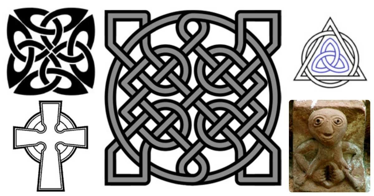 Кельтские узоры, сомобытный стиль который подойдет... значение... https://otattu.ru/