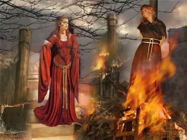 5 страшных случаев сожжения ведьм в истории (7 фото) — нло мир интернет — журнал об нло
