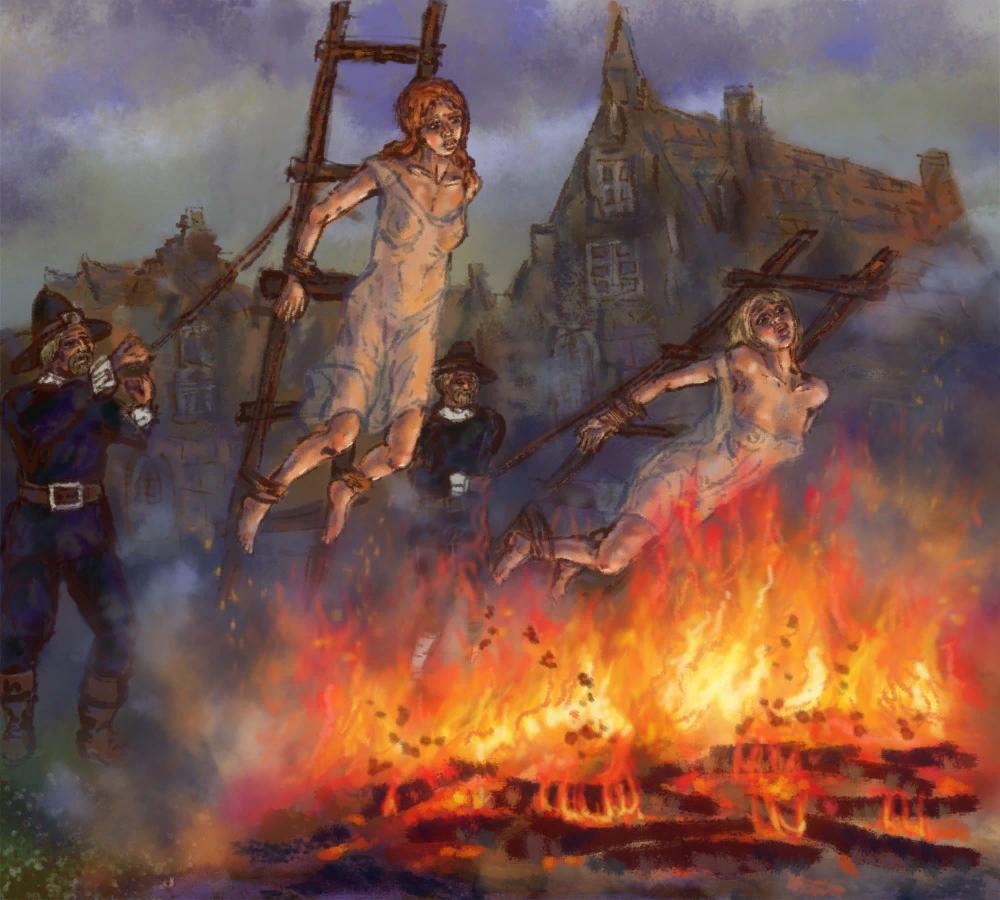 Почему ведьм сжигали на костре в средневековье