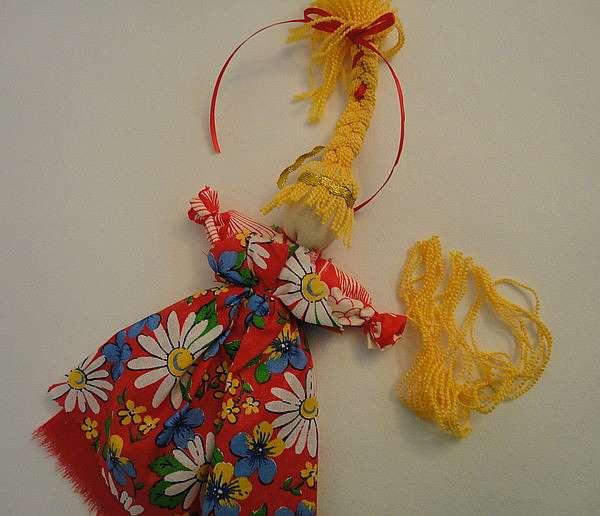 Кукла тряпичная авторская весна своими руками. народная кукла веснянка мк