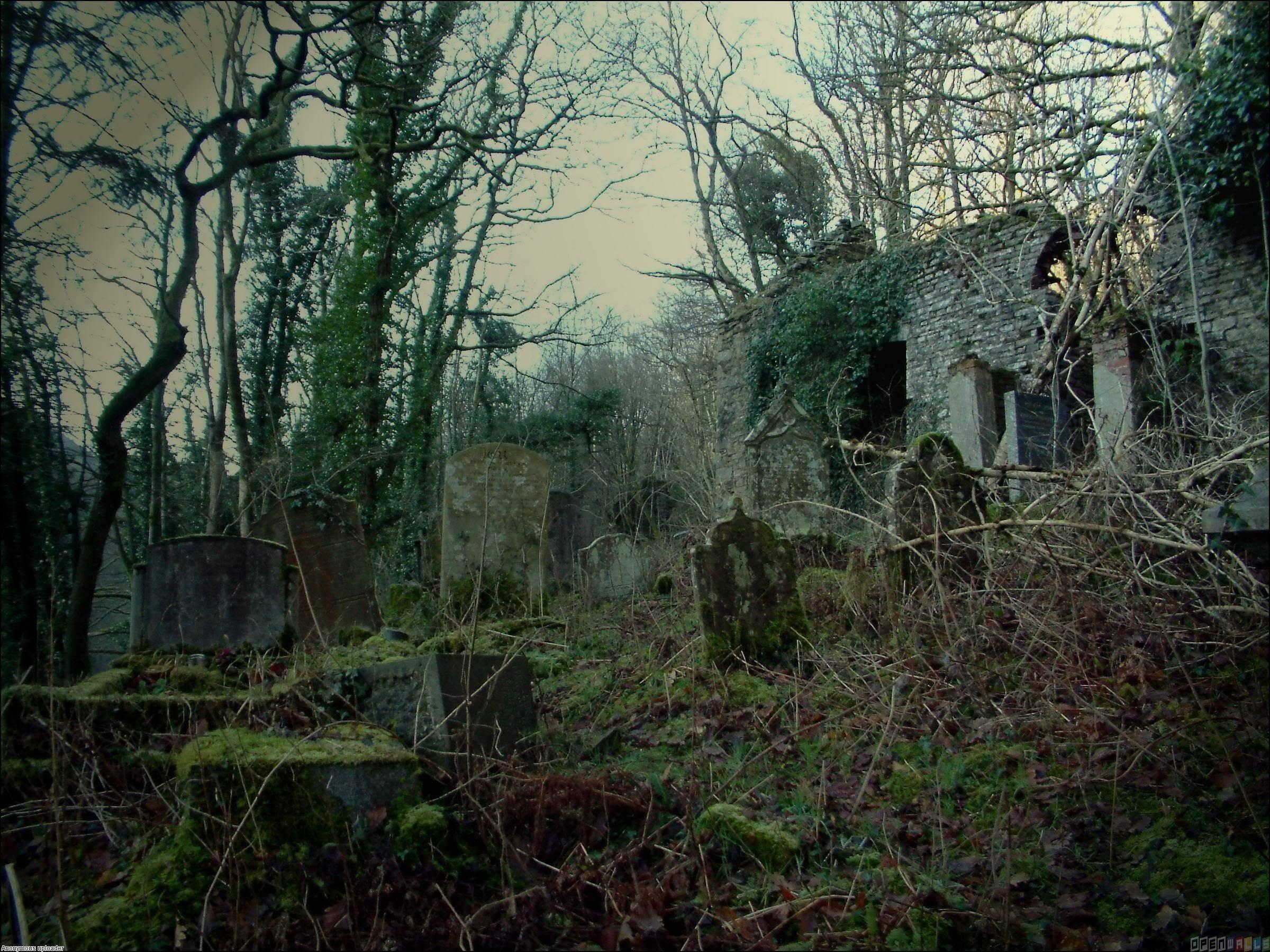 Призрачные хранители кладбищ » страшные истории