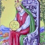 Королева пентаклей (динариев) значение
