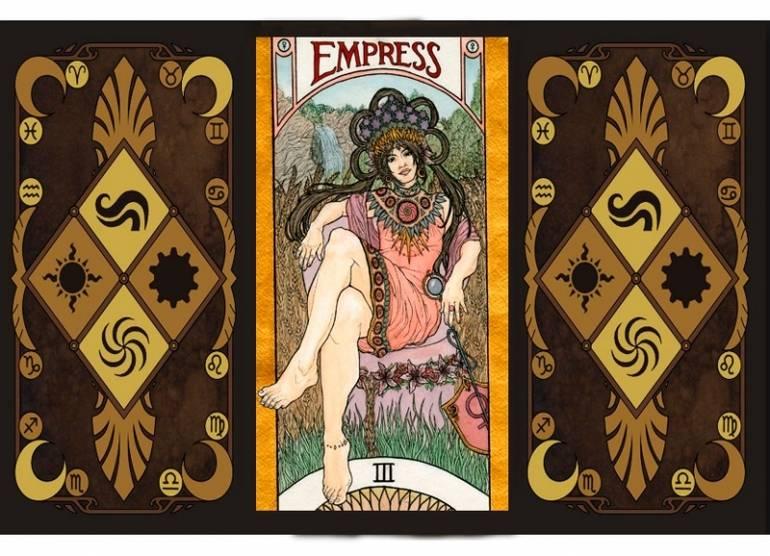 Карта таро императрица, значение и толкование в гадании | бесплатные онлайн гадания. магия. предсказания.