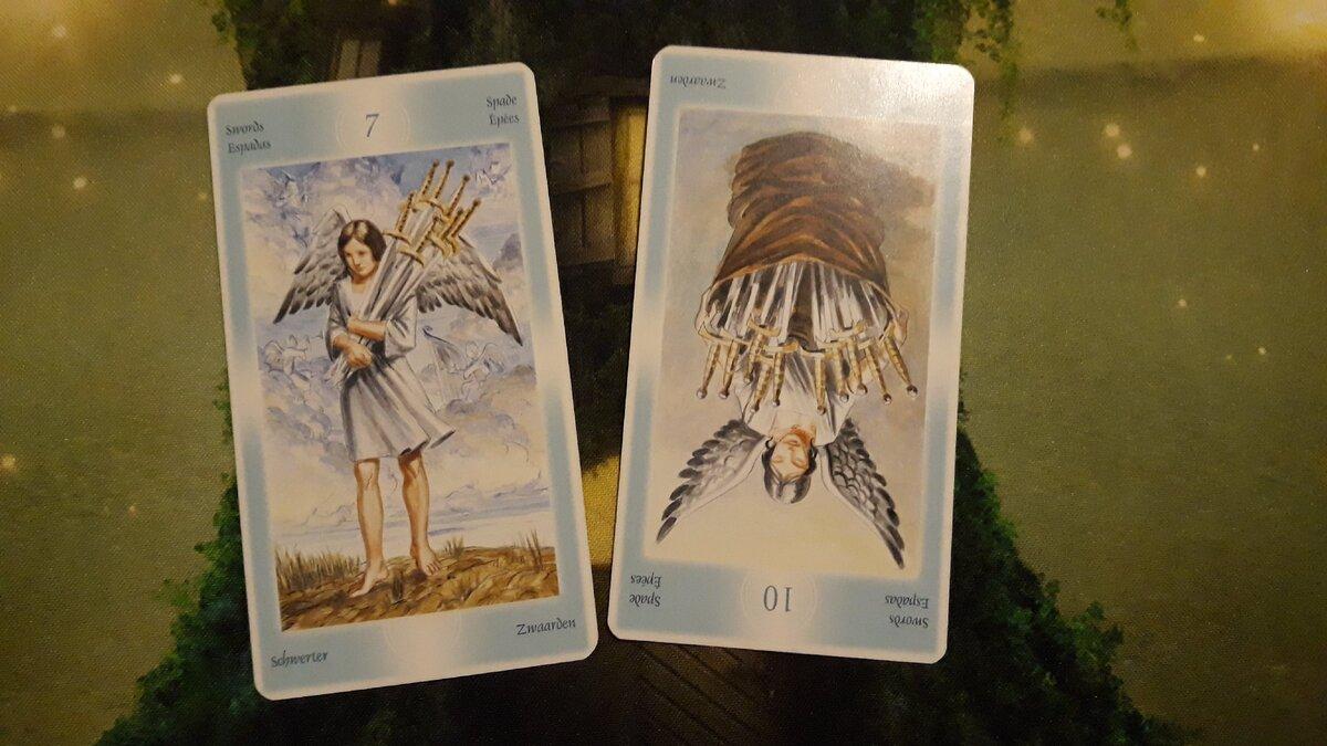 Таро ангелов – особенности колоды и толкование раскладов