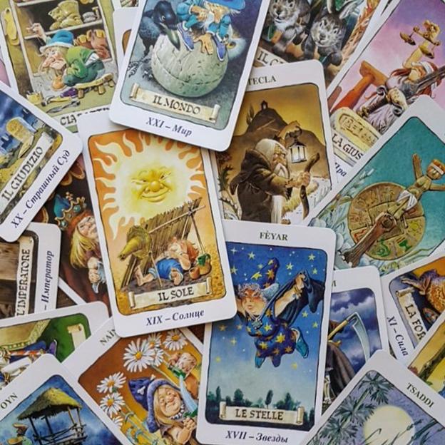 Таро гномов — tarot of the gnomes   энциклопедия карт таро и оракулов rozamira