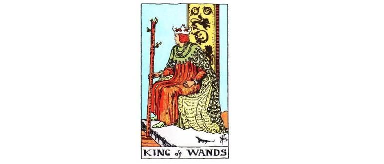Король Жезлов — значение и толкование карты