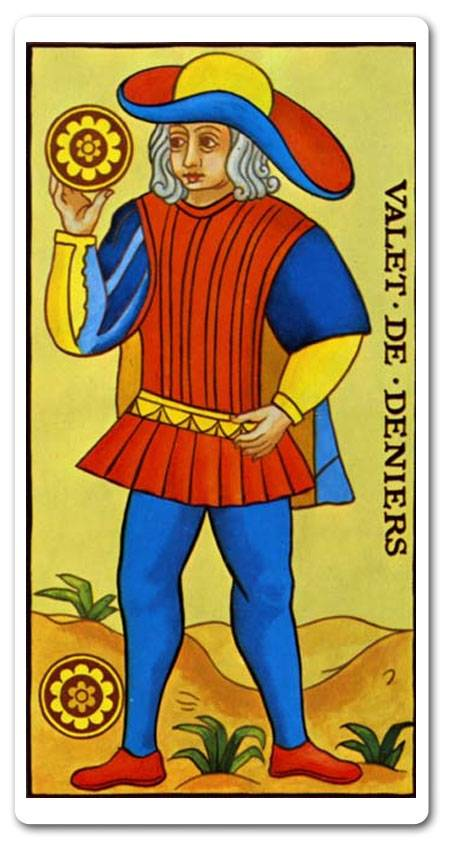 Значение карты таро — рыцарь пентаклей (монет)