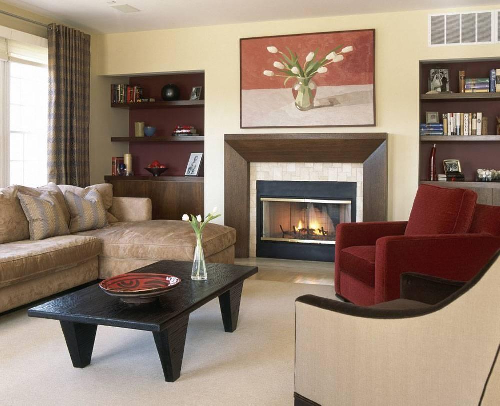 Как оформить гостиную по фен шуй— расстановка мебели, картины и цветы