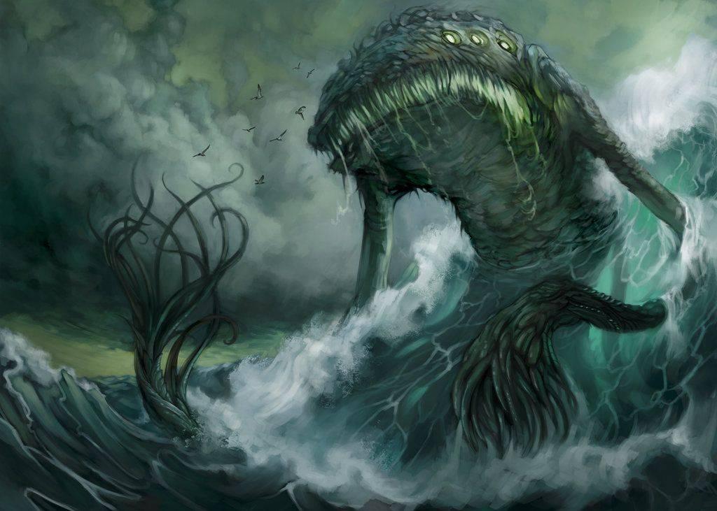 Левиафан | фантастические существа вики | fandom