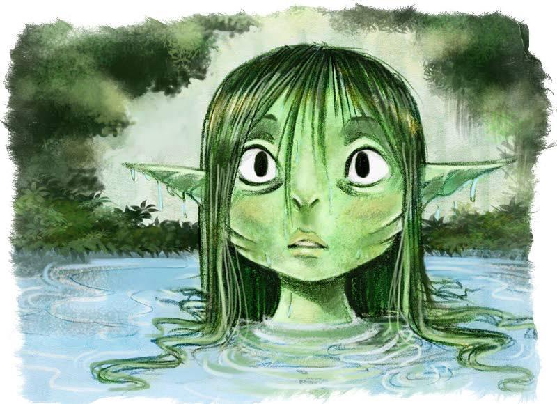 Асраи — водяные фейри из шотландских легенд