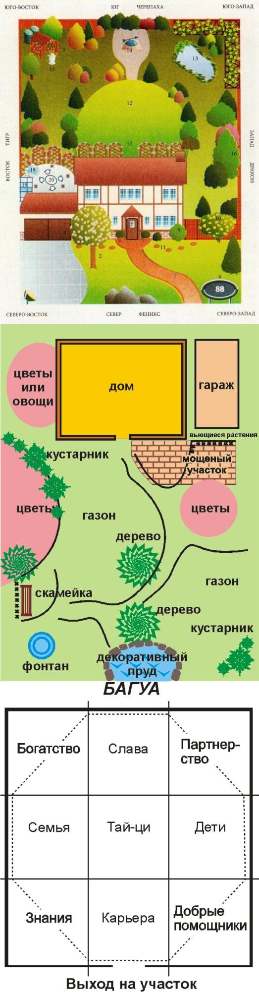 Сад мечты по фен-шуй: все секреты обустройства дачного участка, ценные советы от мастеров