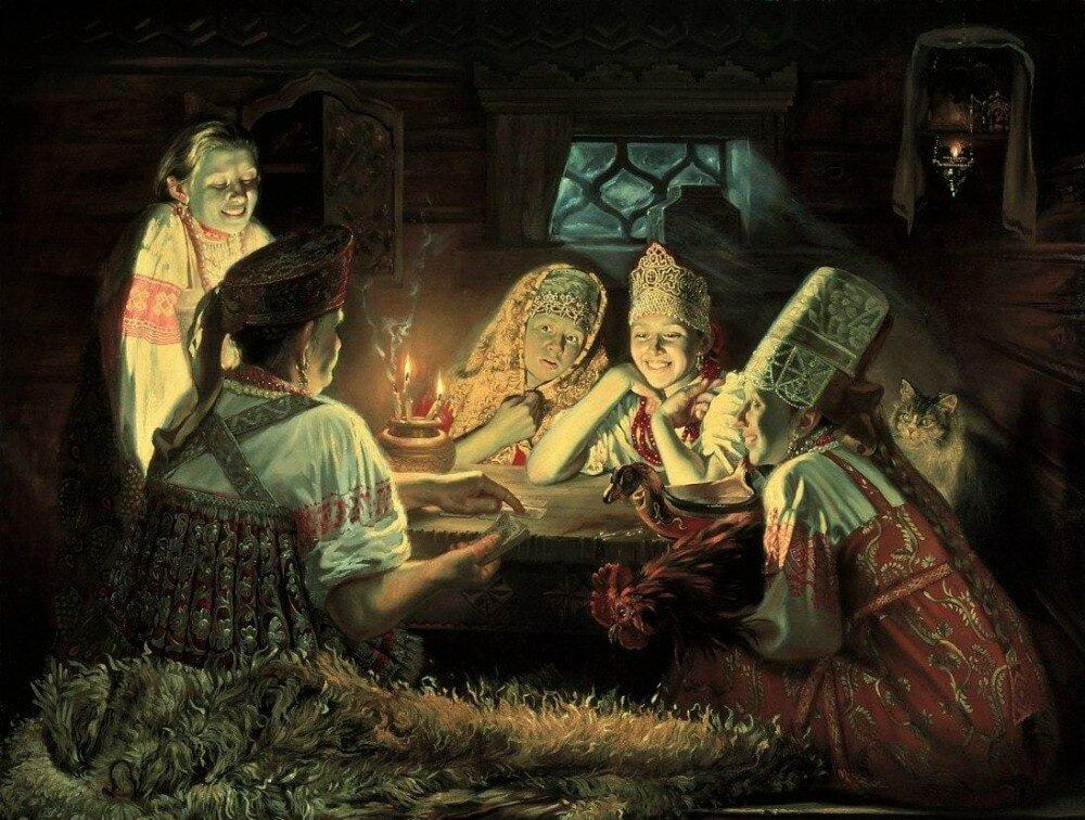 Гадания старинные на рождество. достоверные гадания старинные на рождество