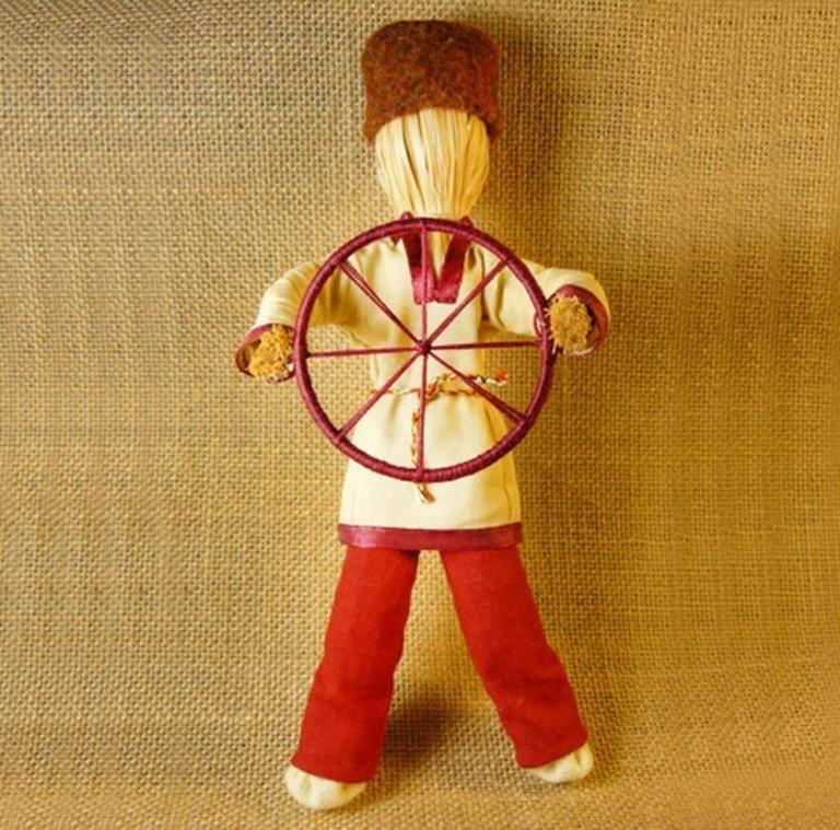 Значение куклы спиридон солнцеворот и мастер класс по изготовлению