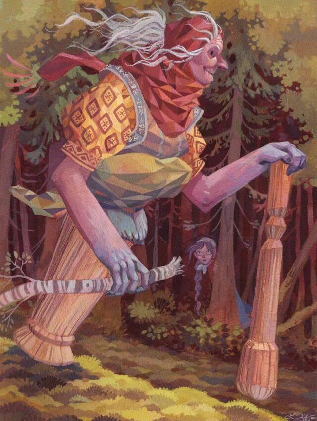 Баба яга | bestiary.us