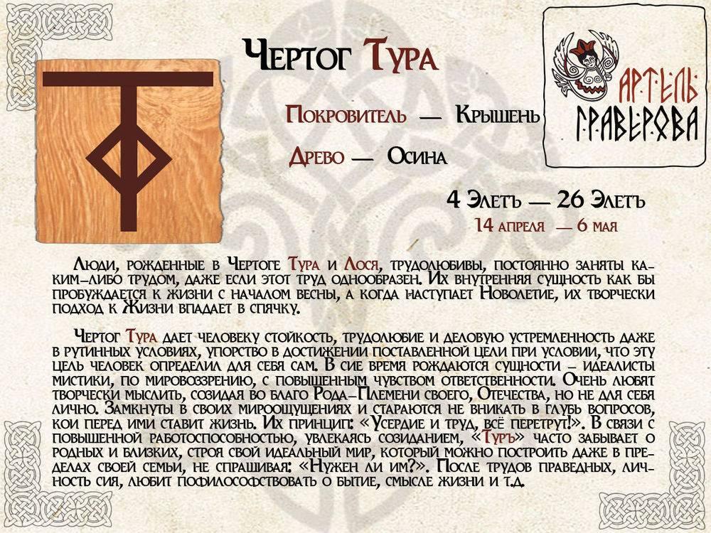Славянский гороскоп животных по дате рождения - по месяцам и по годам
