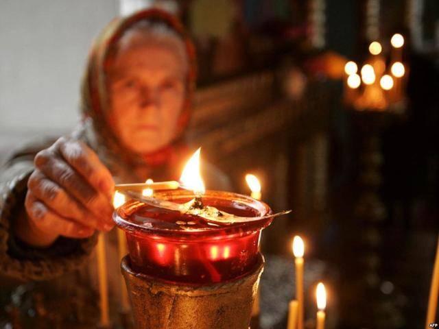 Молитва отчитки грехов