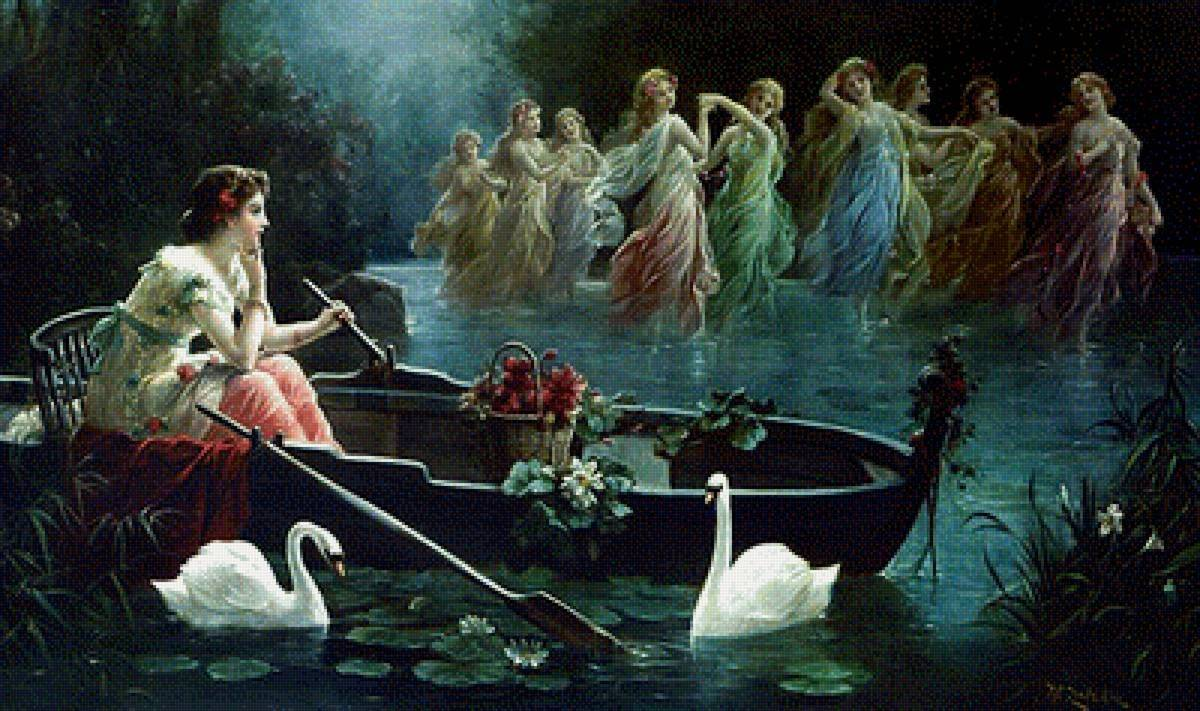 Наяда в мифологии это хранительница ручьев и рек