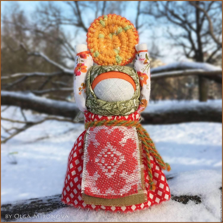 Кукла масленица - оберег для семьи. просто   красиво шить не запретишь!