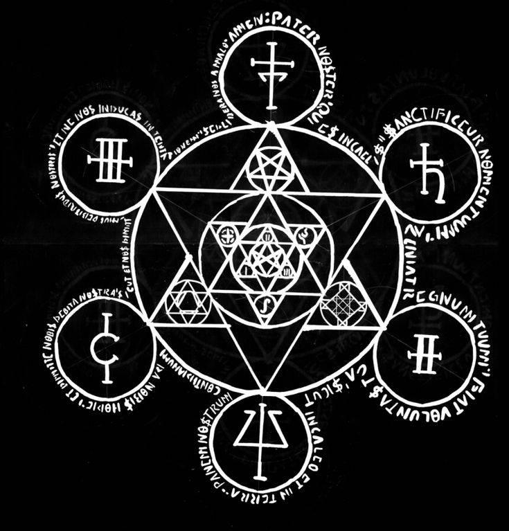 Оккультные знаки