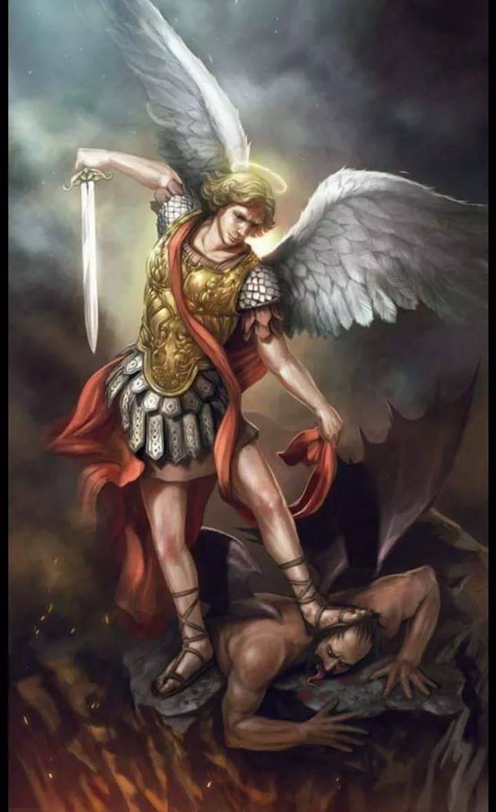Архангел люцифер и архангел михаил - история и битва двух братьев