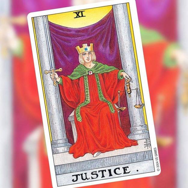 Правосудие (справедливость) в картах таро: значение и толкование в отношениях и любви