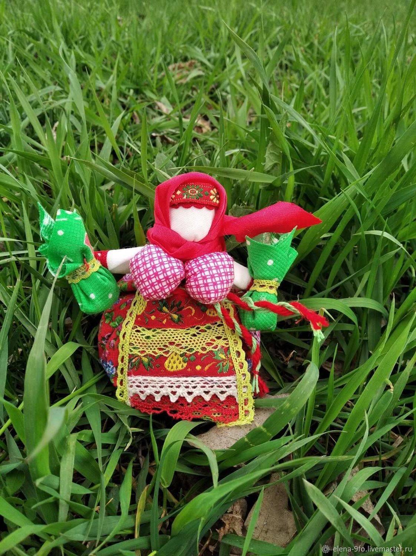Кукла кубышка травница — оберег на все случаи жизни