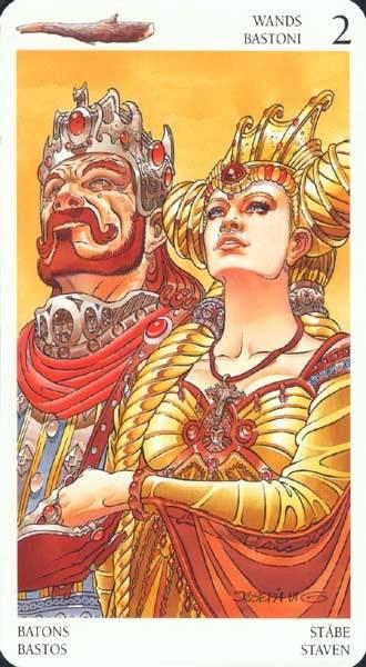 "Король жезлов - колода ""таро ""мистерии авалона"" (avalon tarot)"" - дом таро"