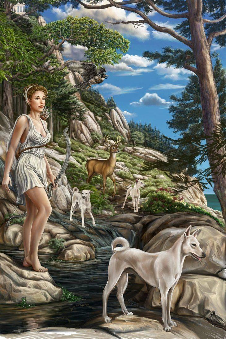 Нимфы   mythological creations   fandom