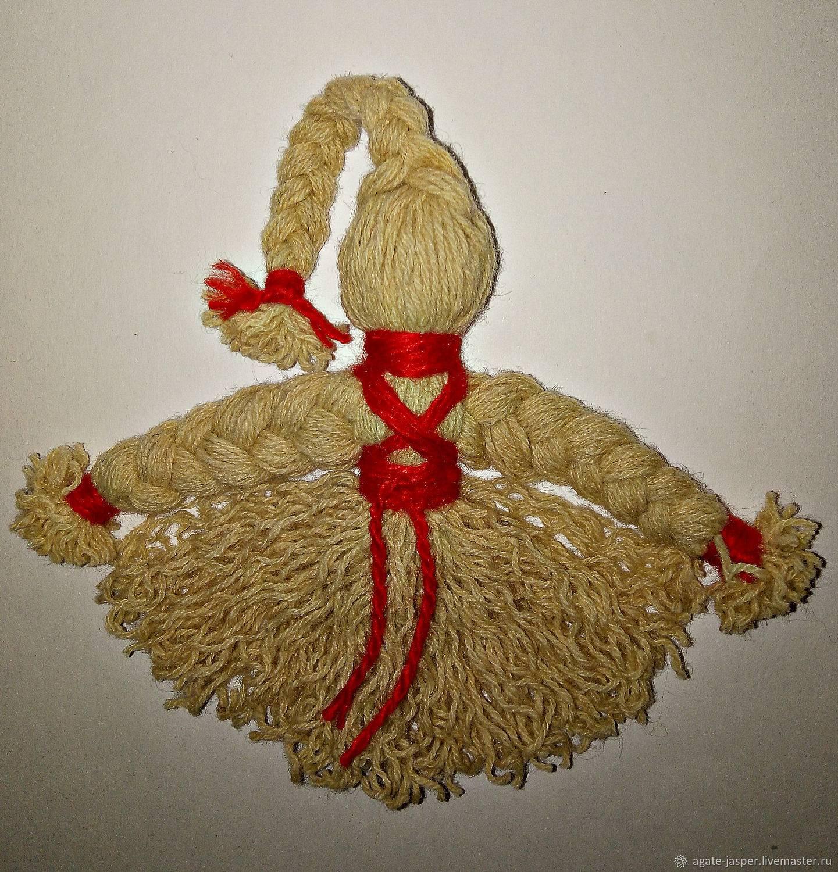 Кукла из ниток: как сделать оберег своими руками пошаговая инструкция