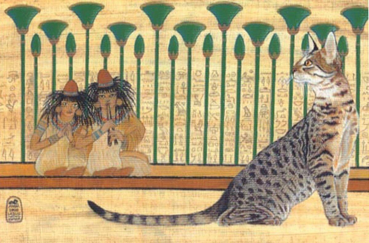 Бакэнэко – японская кошка-оборотень