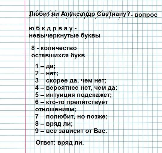 Простые гадания на бумаге с ручкой: на любовь, имя парня, суженого, на желание ???? гадания на отношения