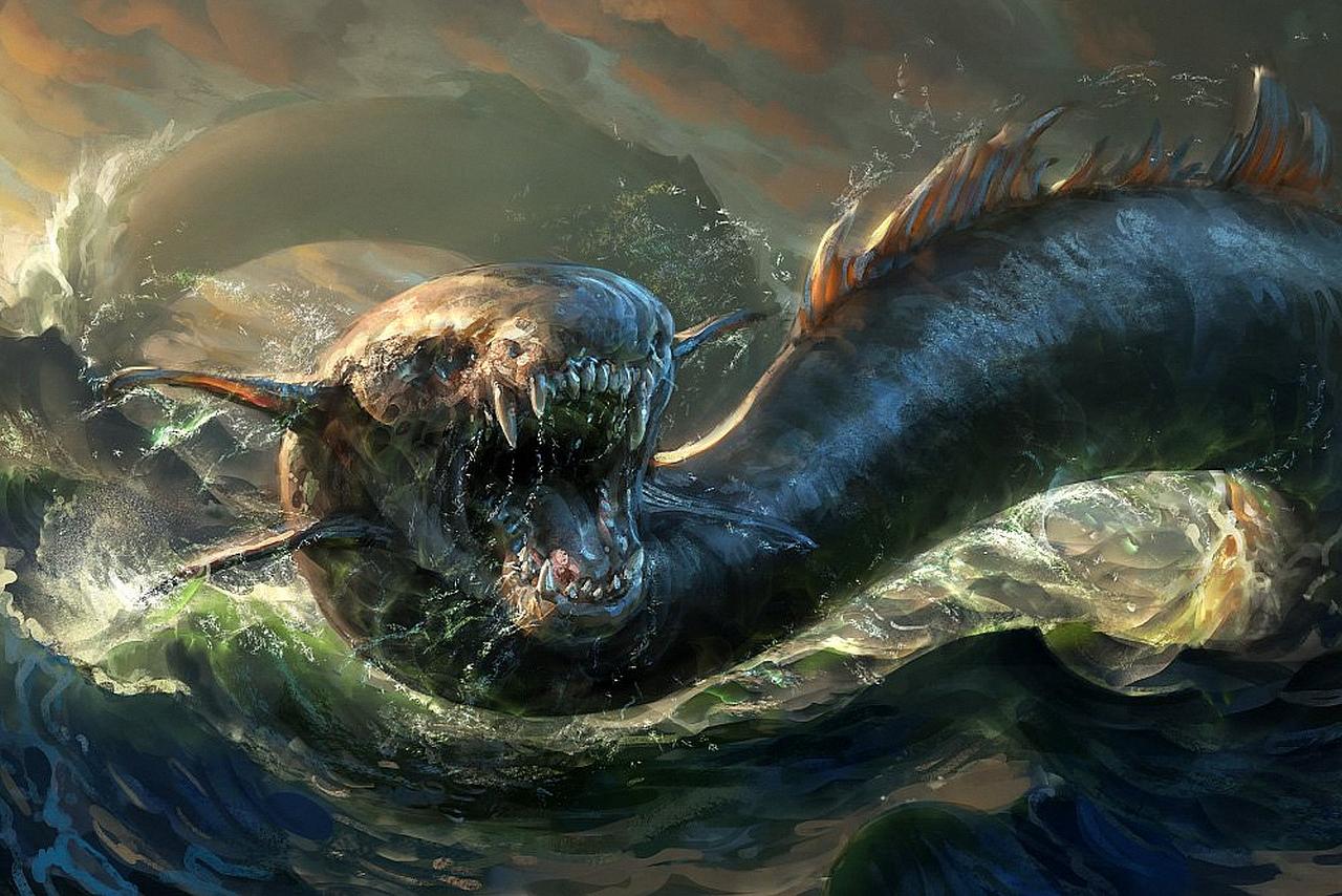 Ли кракен. кракен — легендарное чудовище из морских глубин