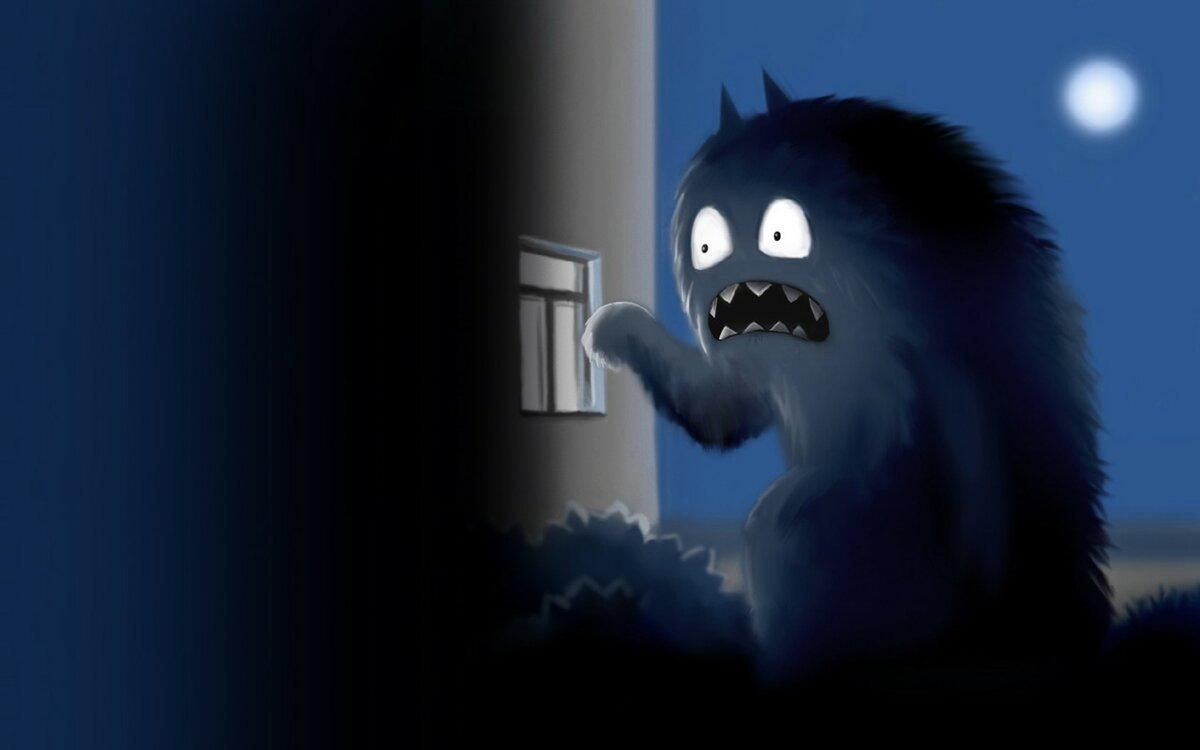 Существо за дверью