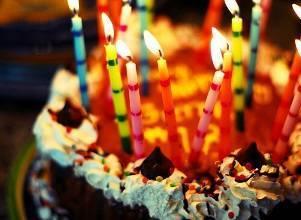 Загадывание желания на день рождения